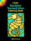 Little Seashore Stained Glass Coloring Book (Dover Little Activity Books) Cover Image