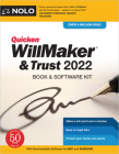 Quicken Willmaker & Trust 2022: Book & Software Kit Cover Image