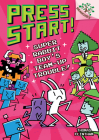 Super Rabbit Boy's Team-Up Trouble!: A Branches Book (Press Start! #10) (Library Edition) Cover Image