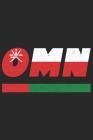 Omn: Oman Tagesplaner mit 120 Seiten in weiß. Organizer auch als Terminkalender, Kalender oder Planer mit der omanischen Fl Cover Image