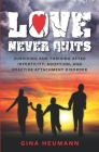 Love Never Quits: Surviving and Thriving After Infertility, Adoption and Reactive Attachment Disorder Cover Image