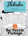 Shikaku Puzzle book: Mixed (Easy and Hard) 120 Puzzles to Solve: Activity puzzle Book for Adults: Mixed (Easy and Hard) 120 Puzzles to Solv Cover Image