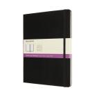 Moleskine Notebook ,Ruled-Plain, Extra Large, Black, Hard Cover (7.5 x 10) Cover Image