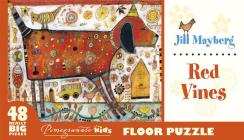 Jill Mayberg: Red Vines Floor Puzzle Cover Image
