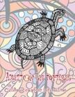 Amante de las tortugas - Libro de colorear para adultos Cover Image