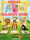 Coloring Book: Amazing Alphabet Animals Coloring Book and Letter Tracing Workbook for Kids Ages 2-4 4-8 Cover Image