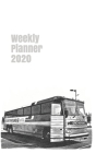 Weekly Planner 2020: calendar organizer agenda for bus enthusiasts. 5x8. 120 pages. Cover Image
