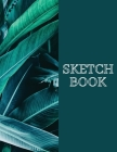 Sketch Book: Blank white pages perfect for drawing writing painting sketching or doodling 8.5x11 Cover Image