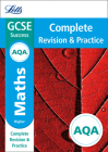 Letts GCSE Revision Success - New Curriculum – AQA GCSE Maths Higher Complete Revision & Practice Cover Image