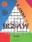 1,000 + sudoku jigsaw 9x9: Logic puzzles extreme levels Cover Image