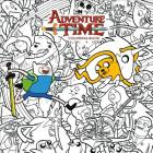 Adventure Time Adult Coloring Book Volume 1 Cover Image