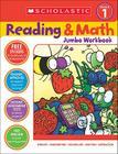 Reading & Math Jumbo Workbook: Grade 1 Cover Image