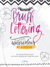 Brush Lettering Workbook Cover Image