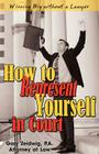 How to Represent Yourself in Court Cover Image