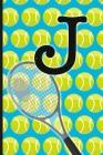 J: Tennis Monogram Initial Notebook for boys Letter J - 6