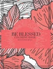 Be Blessed: Coloring Book Cover Image