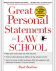 Great Personal Statements for Law School Cover Image