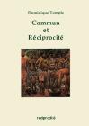 Commun Et Reciprocite Cover Image