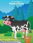 Livro para Colorir de Vacas e Touros 1 Cover Image