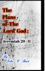The Plans of The Lord God: Jeremiah 29: 11. Cover Image