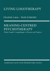 Meaning-Centred Psychotherapy Cover Image