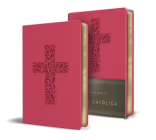 Biblia Católica en español. Símil piel fucsia, tamaño compacto / Catholic Bible. Spanish-Language, Leathersoft, Fucsia, Compact Cover Image