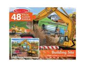 Building Site 48pc Floor Puzzle Cover Image