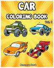 Car Coloring Book: Cars coloring book for kids & toddlers - activity books for preschooler - coloring book for Boys, Girls, Fun and Easy Cover Image