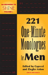 221 One-Minute Monologues for Men Cover Image