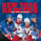 New York Rangers 2021 12x12 Team Wall Calendar Cover Image