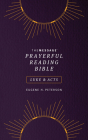 The Message Prayerful Reading Bible: Luke & Acts (Softcover, Purple) Cover Image