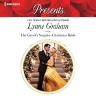 The Greek's Surprise Christmas Bride Lib/E Cover Image