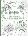 Harry Potter Magical Creatures Coloring Book Cover Image