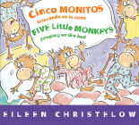 Cinco monitos brincando en la cama/Five Little Monkeys Jumping on the Bed (A Five Little Monkeys Story) Cover Image