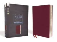 Nasb, Thinline Bible, Large Print, Bonded Leather, Burgundy, Red Letter Edition, 1995 Text, Comfort Print Cover Image