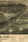 1890 Map of Cottage City / Oak Bluffs, Martha's Vineyard, Massachusetts - A Poetose Notebook / Journal / Diary (50 pages/25 sheets) Cover Image