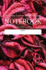 Autumn Leaves Theme Ruled Notebook: Perfect for students, writers office workers ...in fact anyone that needs a handy notebook to pen their thoughts, Cover Image