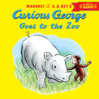 Curious George Goes to the Zoo with downloadable audio Cover Image