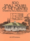 500 Small Houses of the Twenties (Dover Architecture) Cover Image