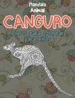 Libros para colorear para niños - Mandala - Animal - Canguro Cover Image