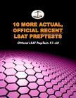 10 More Actual, Official Recent LSAT Preptests: Official LSAT Preptests 51-60 (Cambridge LSAT) Cover Image