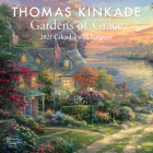 Thomas Kinkade Gardens of Grace with Scripture 2021 Wall Calendar Cover Image