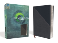 NIV, Revolution Bible, Imitation Leather, Gray/Navy: The Bible for Teen Guys Cover Image