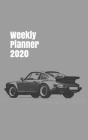Weekly Planner 2020: calendar organizer for car enthusiasts. 5x8. 120 pages. Cover Image