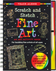 Scratch & Sketch Fine Art (Trace Along) Cover Image