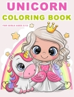 Unicorn Coloring Books for Girls Ages 8-12: The Magical Unicorn Coloring Pages (Unicorn activity book 8-12) Cover Image