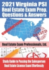 2021 Virginia PSI Real Estate Exam Prep Questions and Answers: Study Guide to Passing the Salesperson Real Estate License Exam Effortlessly Cover Image