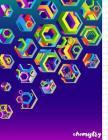 Chemistry: Hexagonal Graph Paper Notebook, Diameter 0.25 inch (1/4