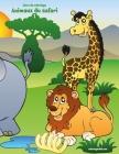 Livre de coloriage Animaux du safari 1 Cover Image