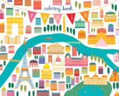 Paris Coloring Book Cover Image